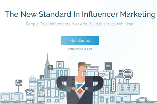 klear influencer marketing